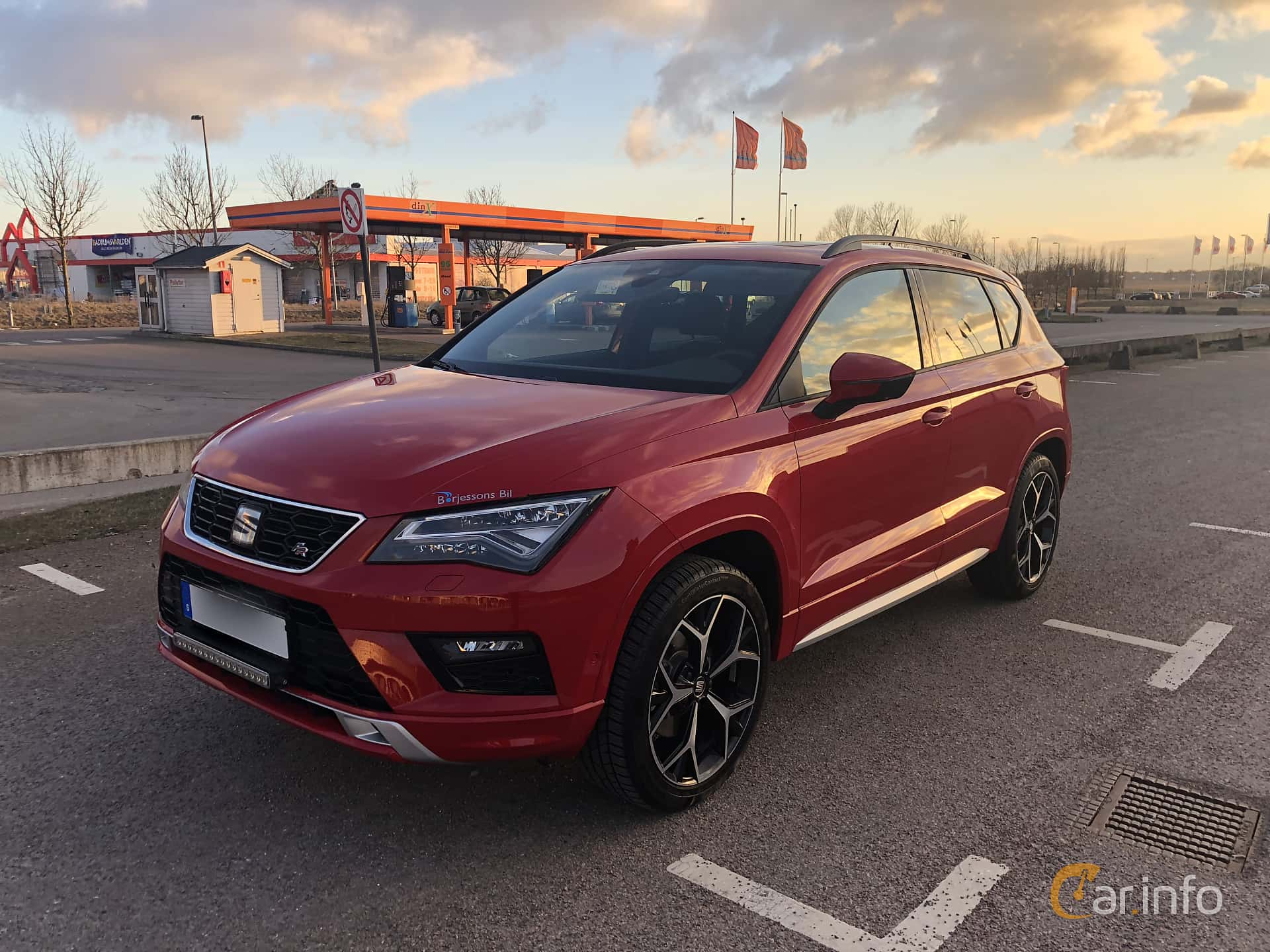 7 Images Of Seat Ateca Fr 20 Tsi 4drive Dsg Sequential