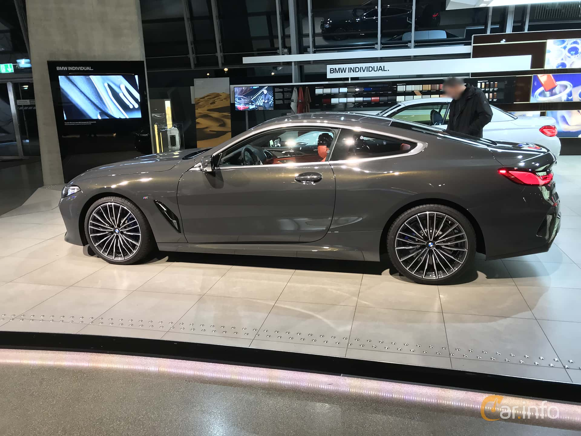 Side  of BMW 840d xDrive  Steptronic, 320ps, 2019