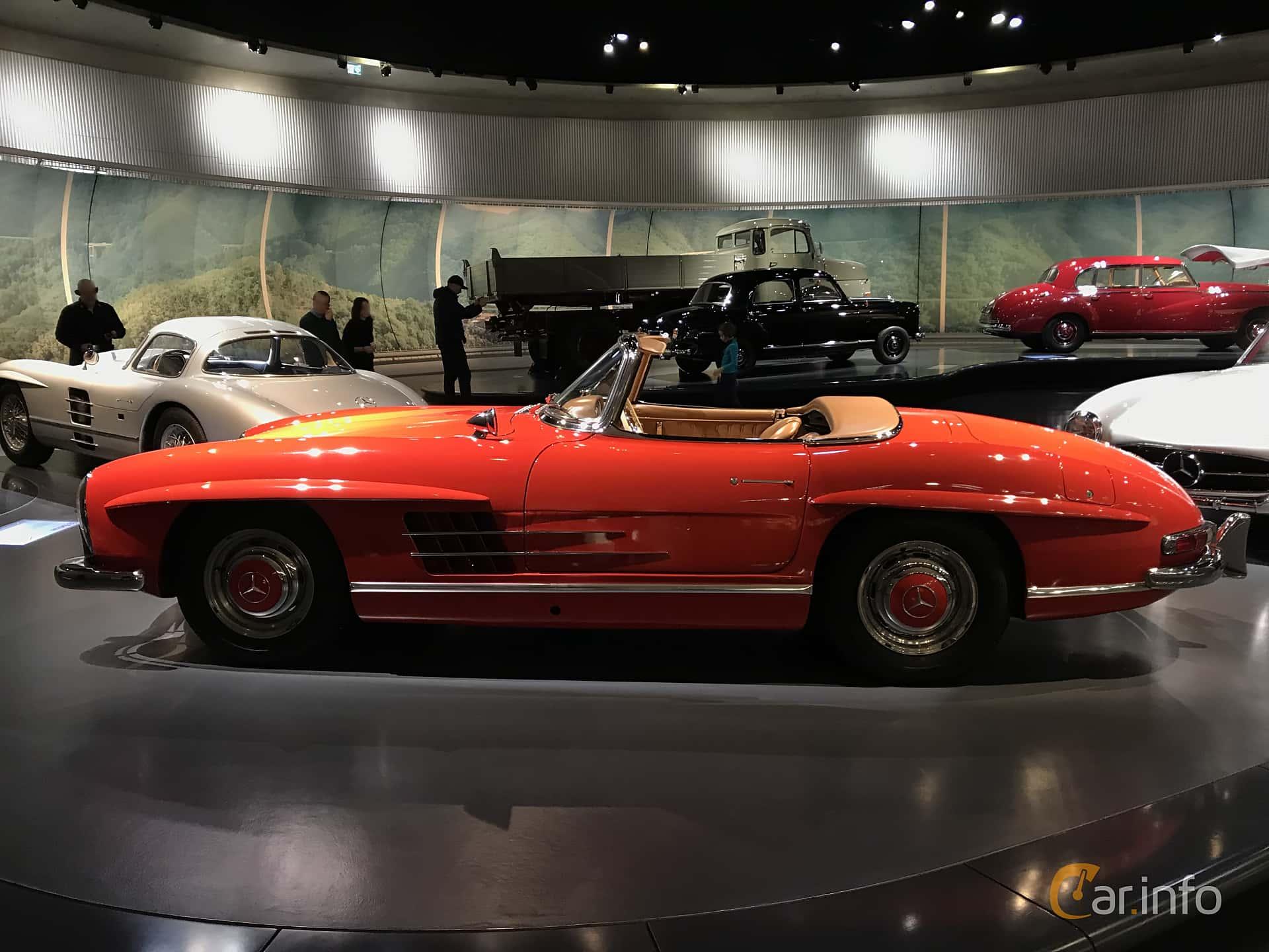 Mercedes-Benz 300 SL Roadster  Manual, 225hp, 1962