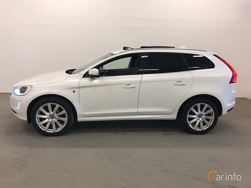 Side  of Volvo XC60 D4 AWD Geartronic, 190ps, 2016