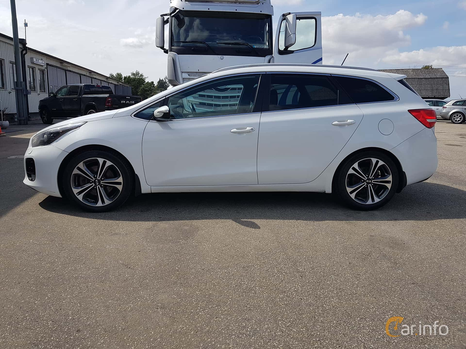 Kia cee'd_sw 1.6 CRDi Manual, 136hp, 2016