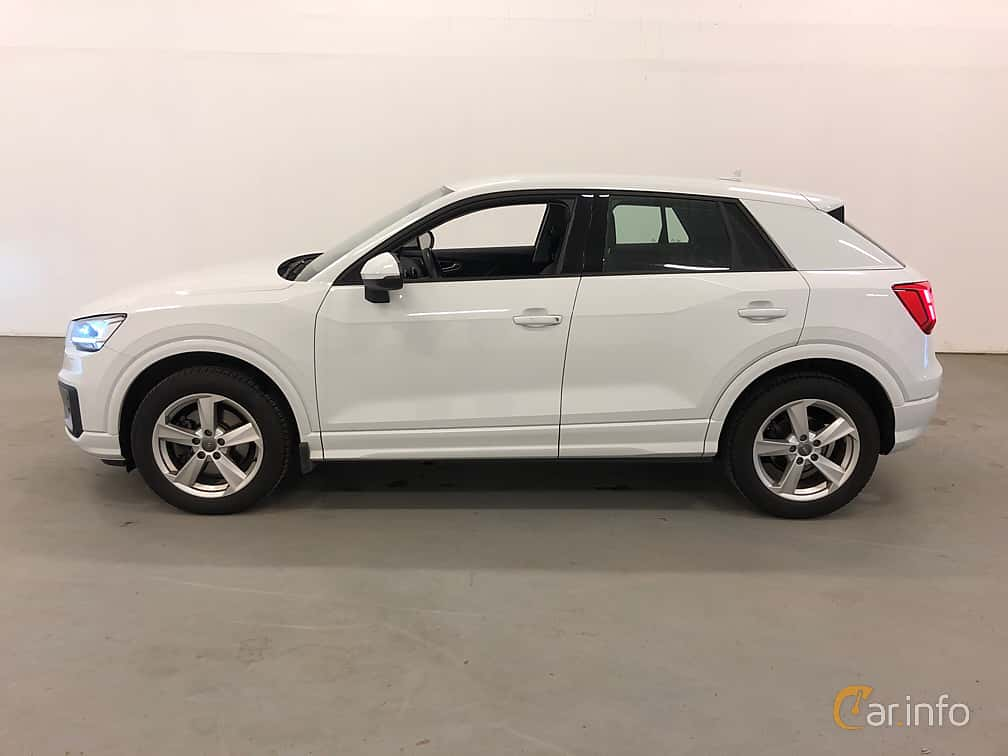 Side  of Audi Q2 1.6 TDI Manual, 116ps, 2018