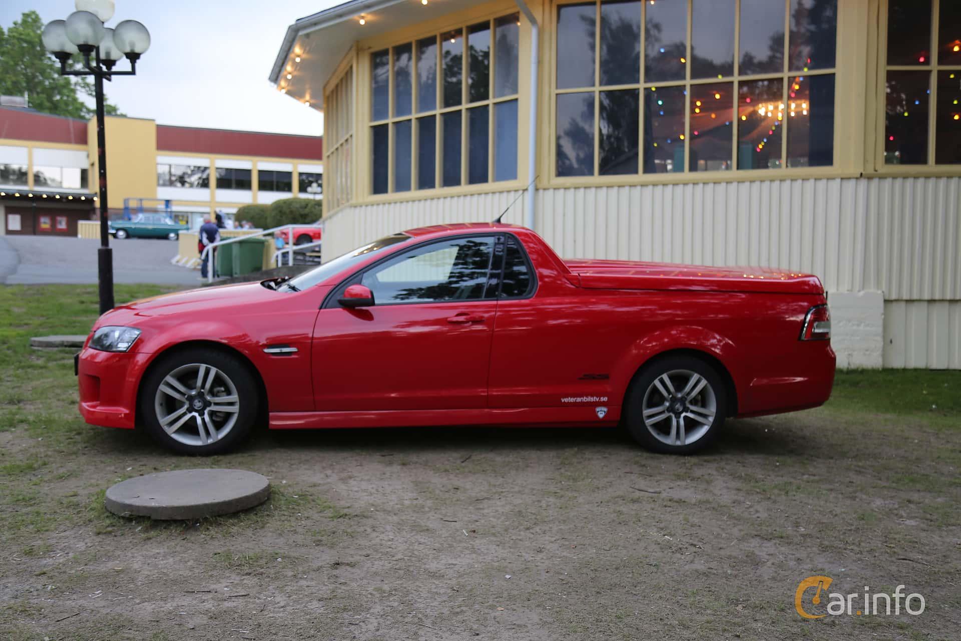 Side  of Holden Ute 3.6 V6 Manual, 265ps, 2009 at Bil & MC-träffar i Huskvarna Folkets Park 2019 Amerikanska fordon