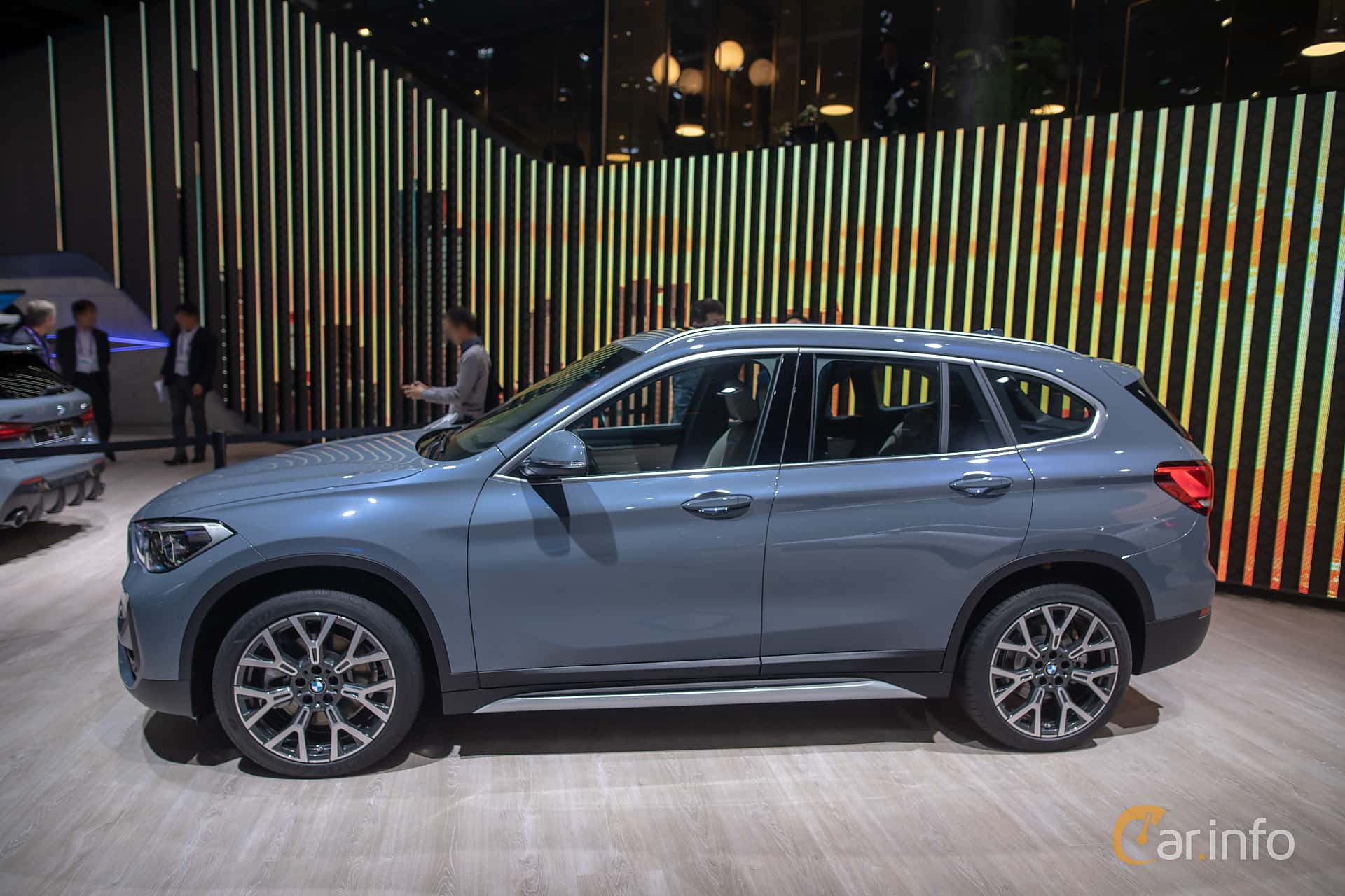 Side  of BMW X1 xDrive20d  Steptronic, 190ps, 2020 at IAA 2019