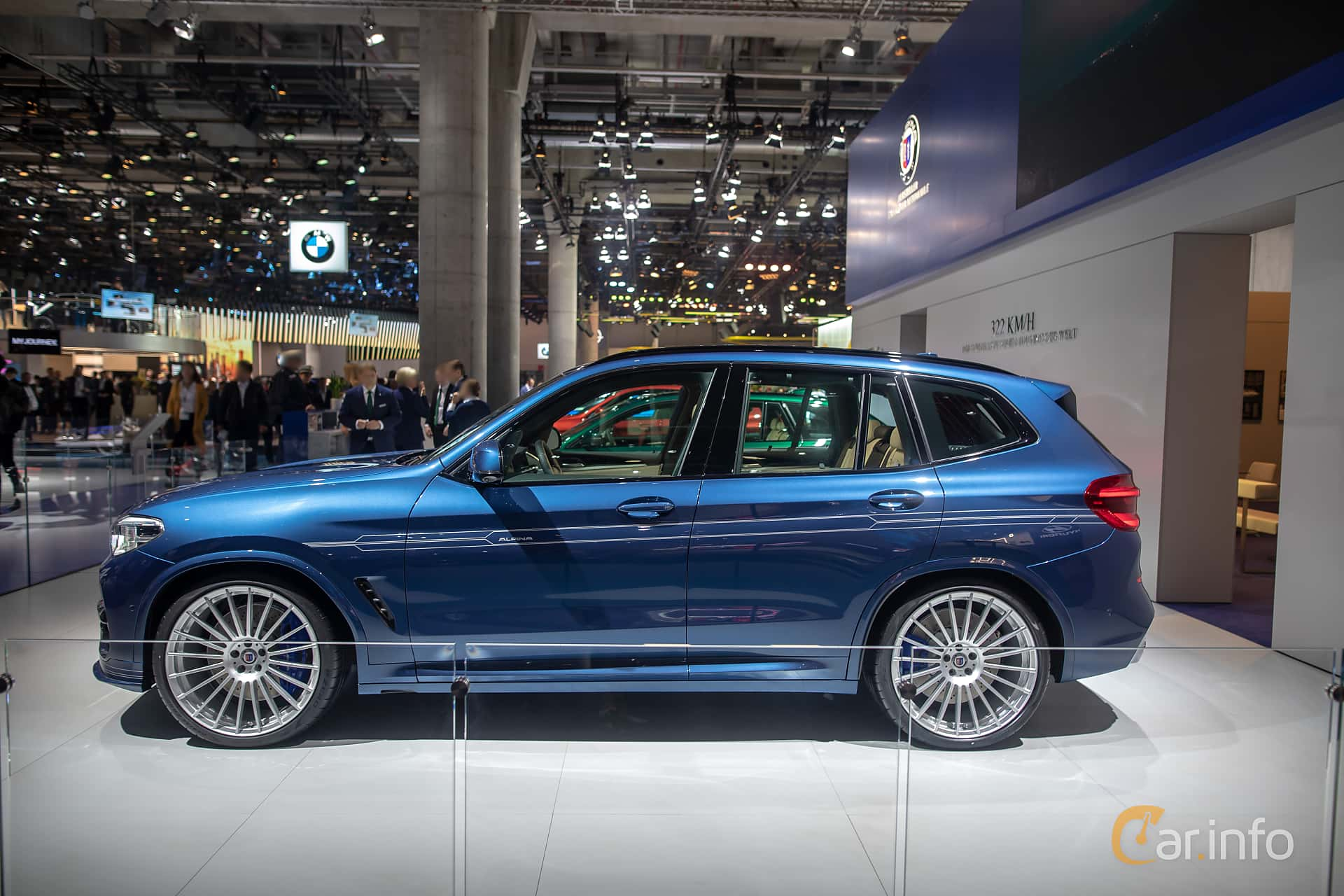 ALPINA XD3 ALLRAD  Switch-Tronic, 388hp, 2020 at IAA 2019
