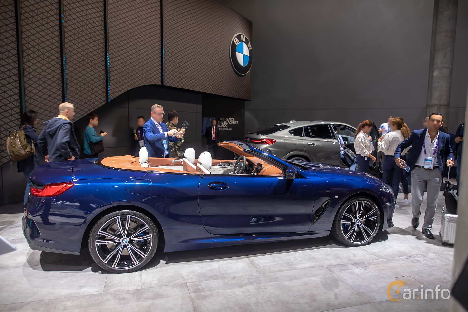 Side  of BMW 840i Convertible  Steptronic, 340ps, 2020 at IAA 2019