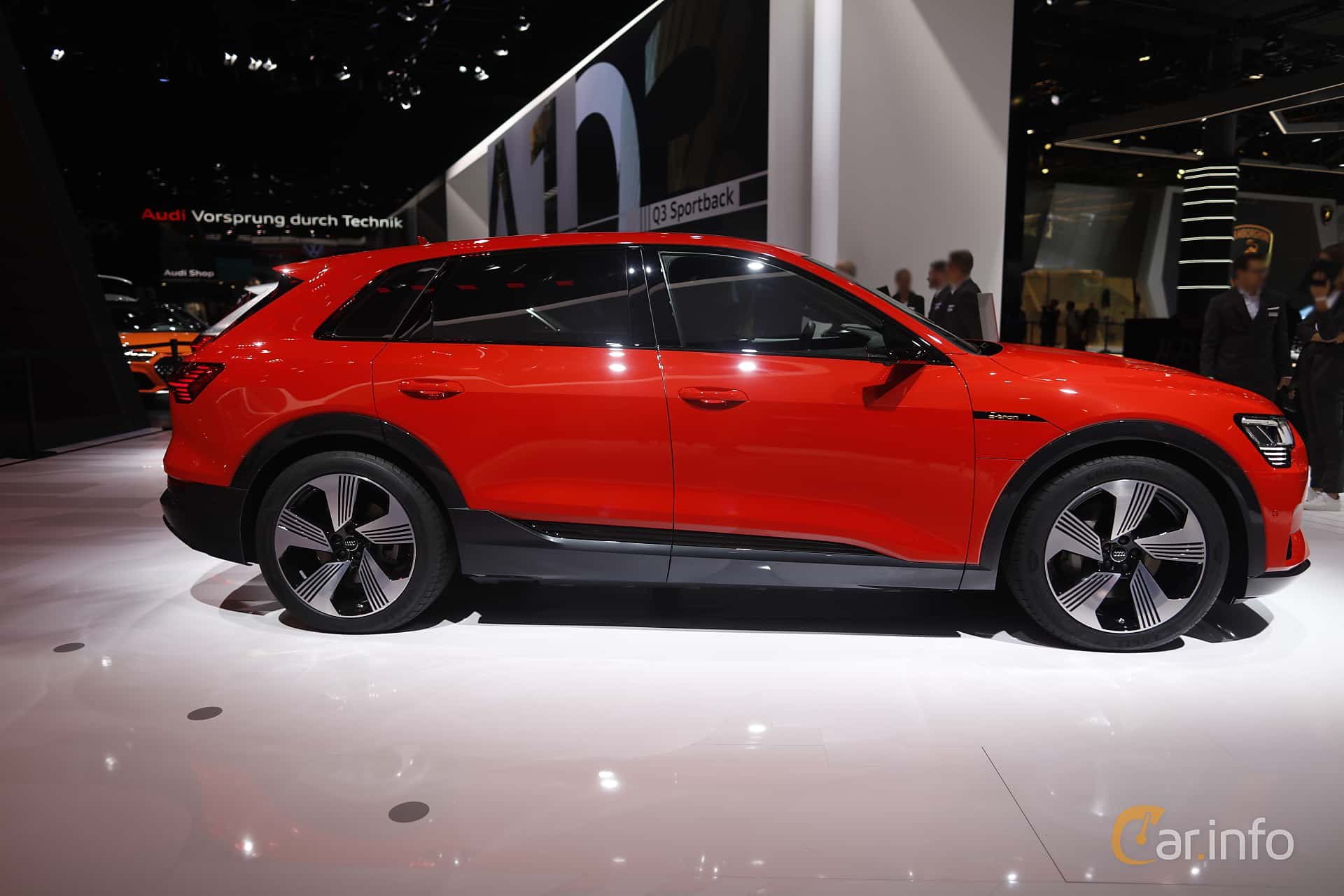 Audi e-tron 55 quattro  Single Speed, 408hp, 2020 at IAA 2019