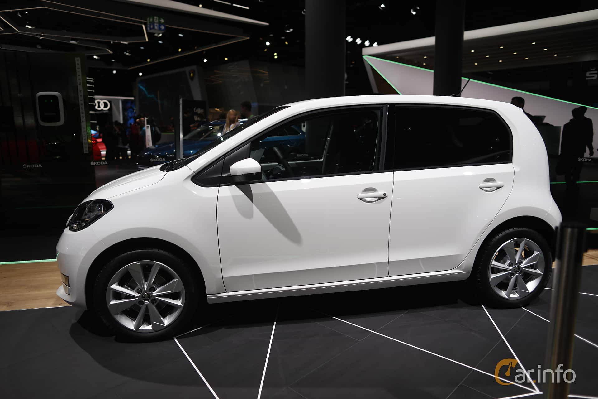 Side  of Skoda Citigo iV 36.8 kWh Single Speed, 83ps, 2020 at IAA 2019