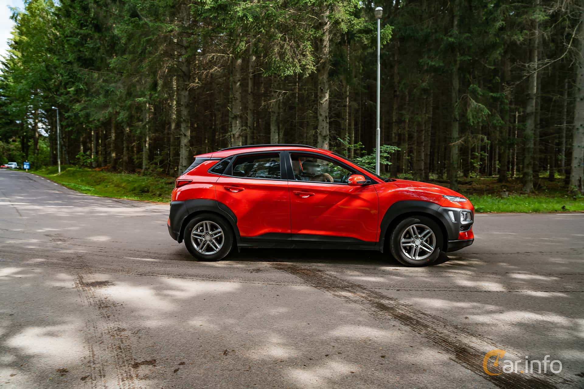 Hyundai Kona 1.0 T-GDI blue Manual, 120hp, 2018 at Svenskt sportvagnsmeeting 2019