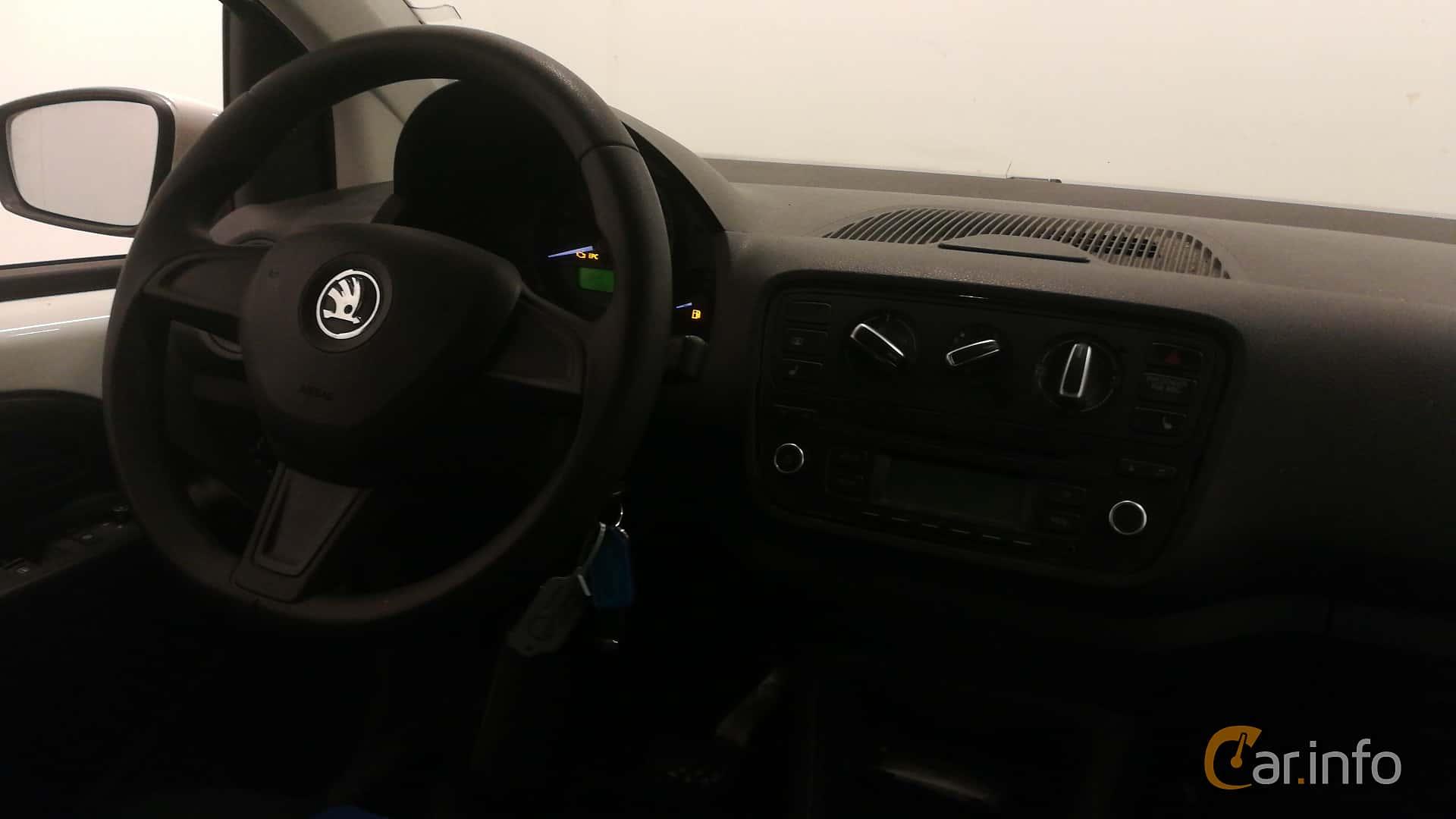 Skoda Citigo 3-door 1.0 MPI Automatic, 60hp, 2015