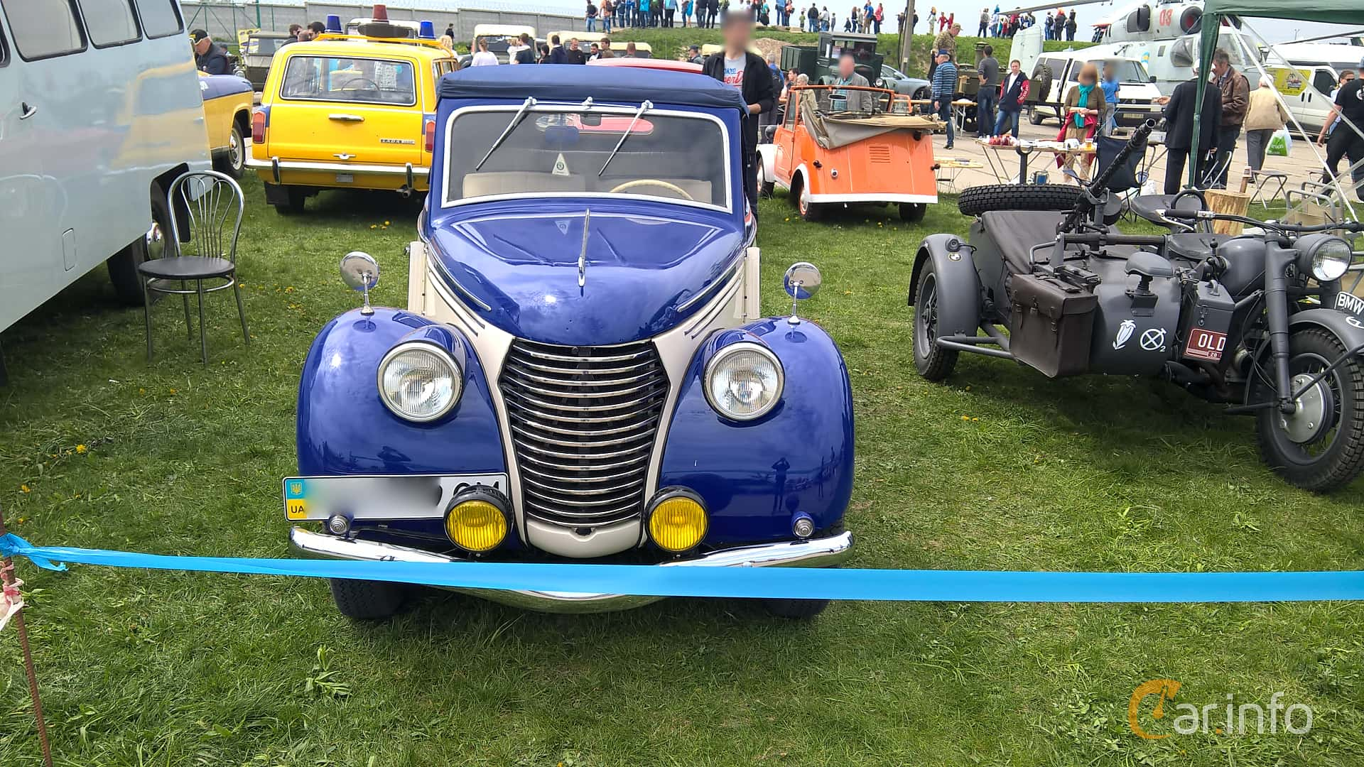 Skoda Popular 1100 OHV Convertible 1.1 Manuell, 30hk, 1939 at Old Car Land no.1 2017