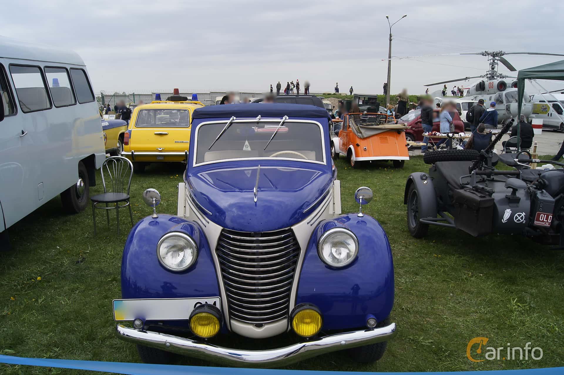 Skoda Popular 1100 OHV Convertible 1.1 Manuell, 30hk, 1939 at Old Car Land no.1 2017