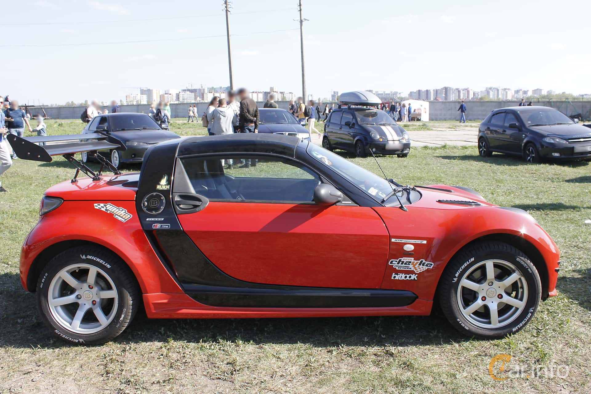 smart roadster brabus 1st generation. Black Bedroom Furniture Sets. Home Design Ideas
