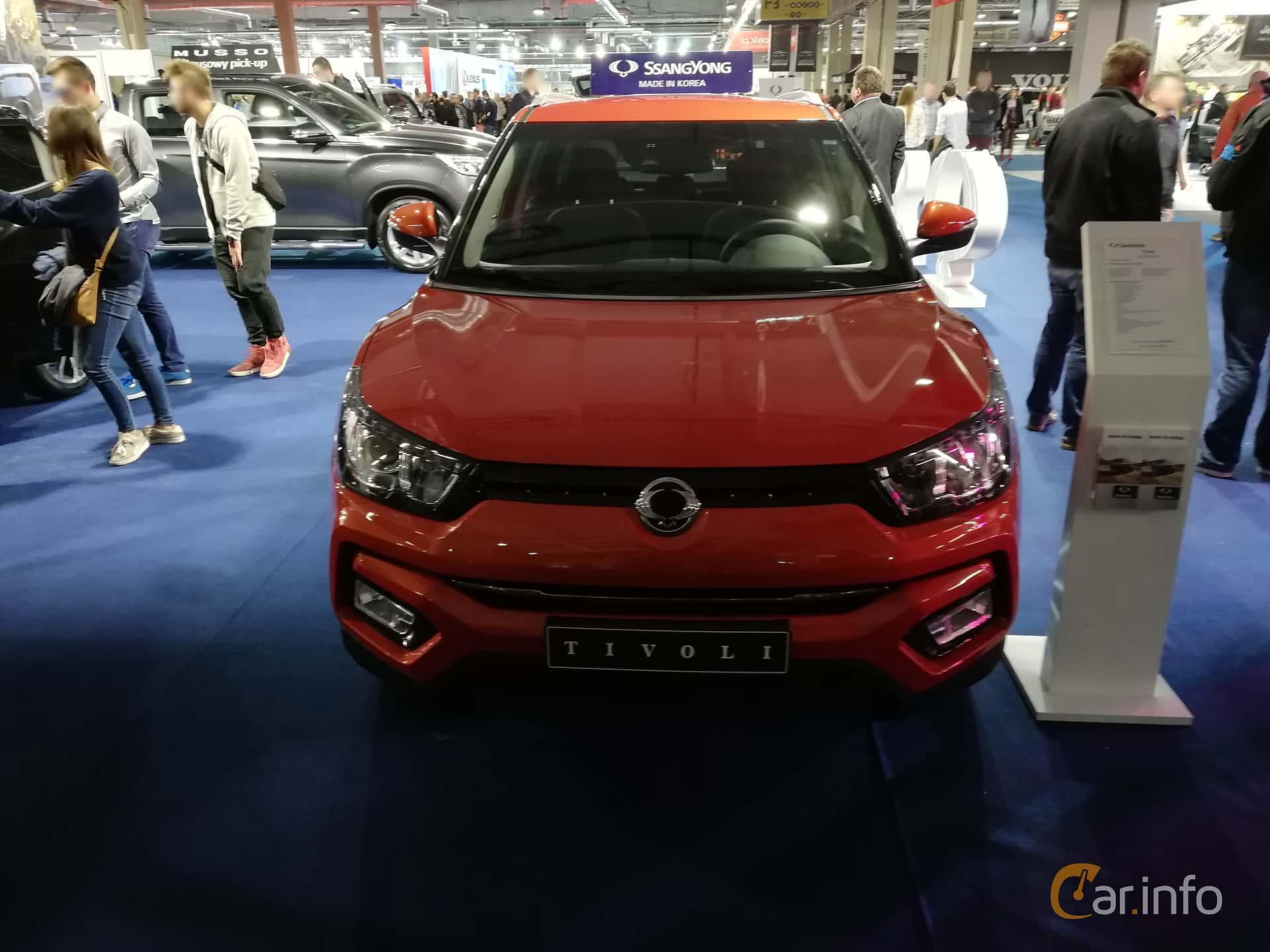 SsangYong Tivoli 1.6 e-GXI Manuell, 128hk, 2018 at Warsawa Motorshow 2018