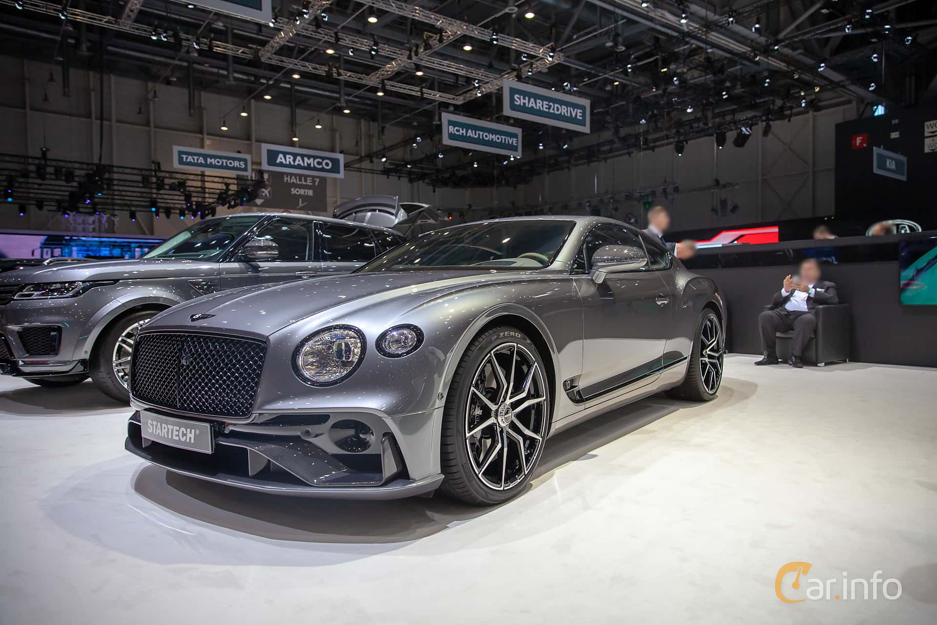 Front/Side  of STARTECH Continental GT 6.0 W12 TSI DCT, 635ps, 2019 at Geneva Motor Show 2019