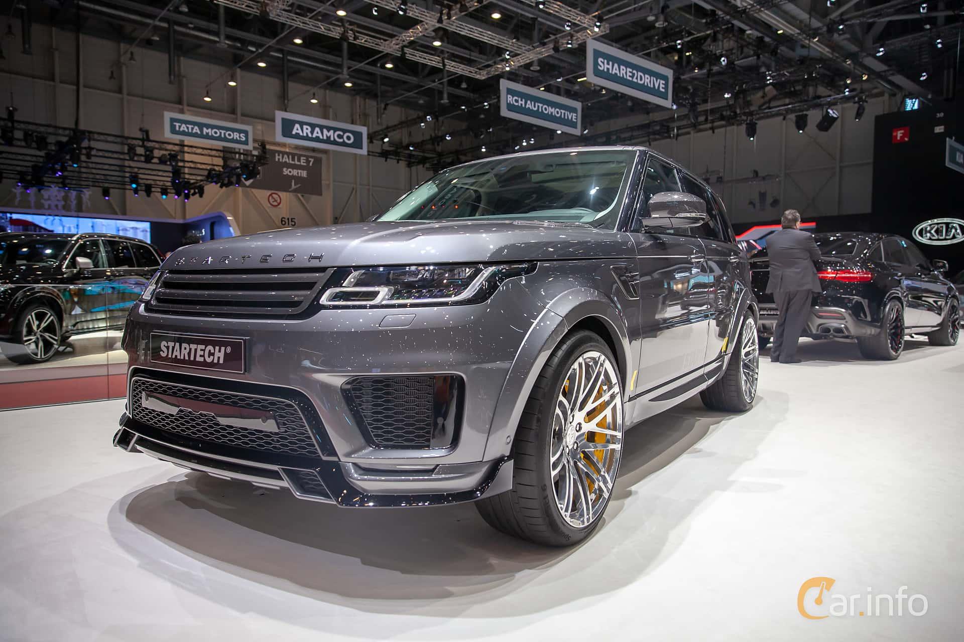 STARTECH Range Rover Sport 5.0 V8 4WD Automatic, 525hp, 2019 at Geneva Motor Show 2019