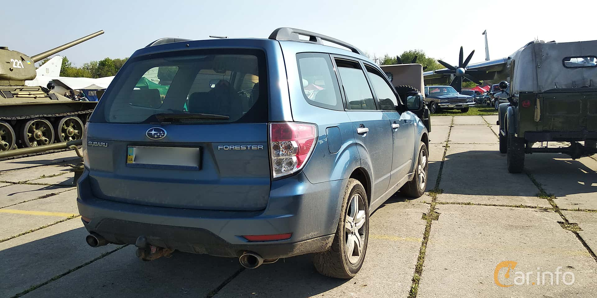 Subaru Forester 2008 at Old Car Land no.1 2019