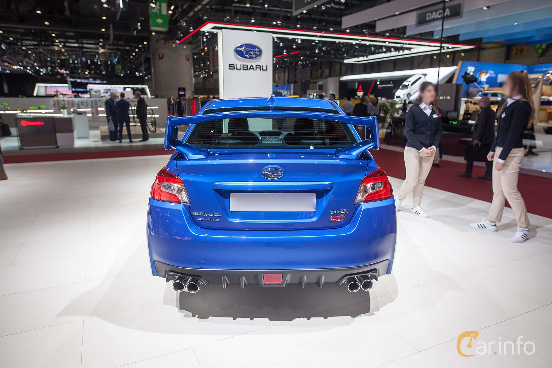 Subaru WRX STi 2.5 4WD Manual, 300hp, 2018 at Geneva Motor Show 2018