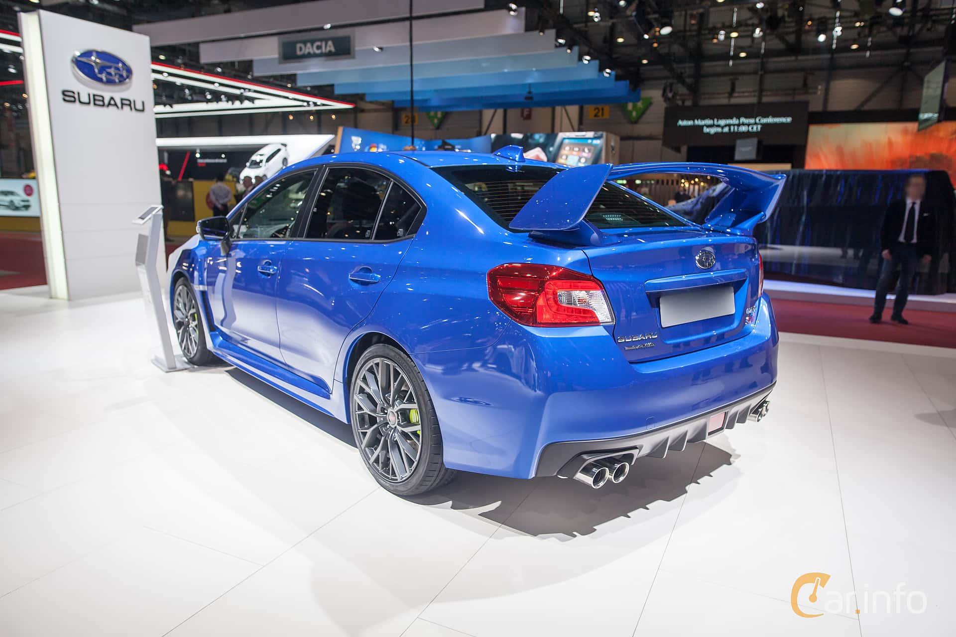 Subaru WRX STi 2.5 4WD Manual, 300hp, 2018 at Geneva Motor Show 2018