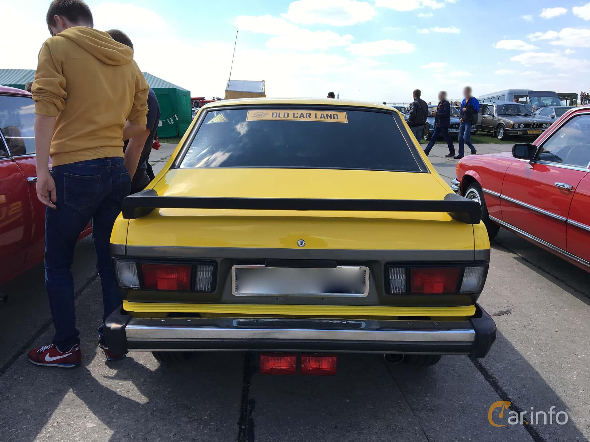 Subaru Leone 4-door Sedan 1977