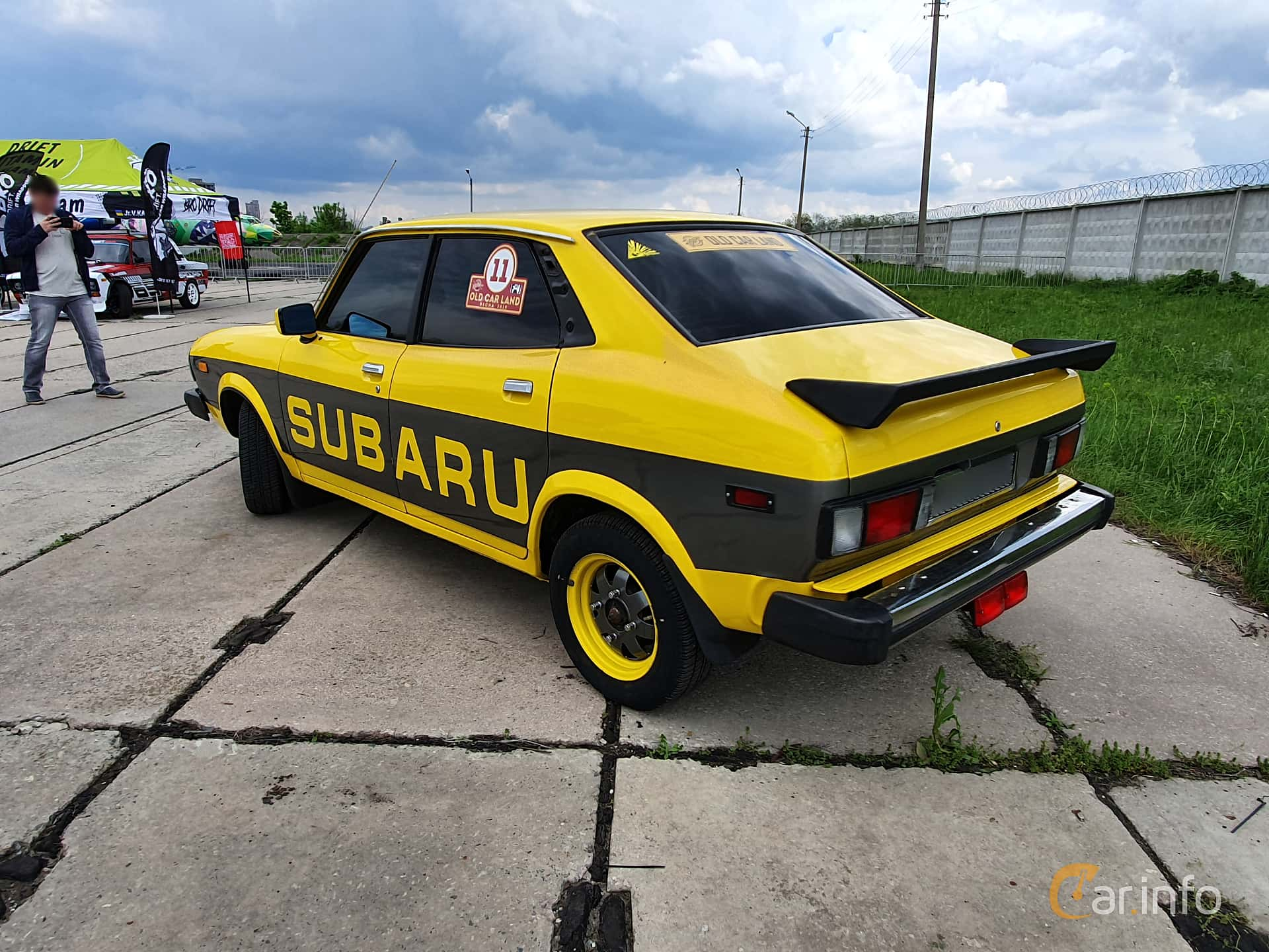Subaru Leone 4-door Sedan 1977 at Old Car Land no.1 2019