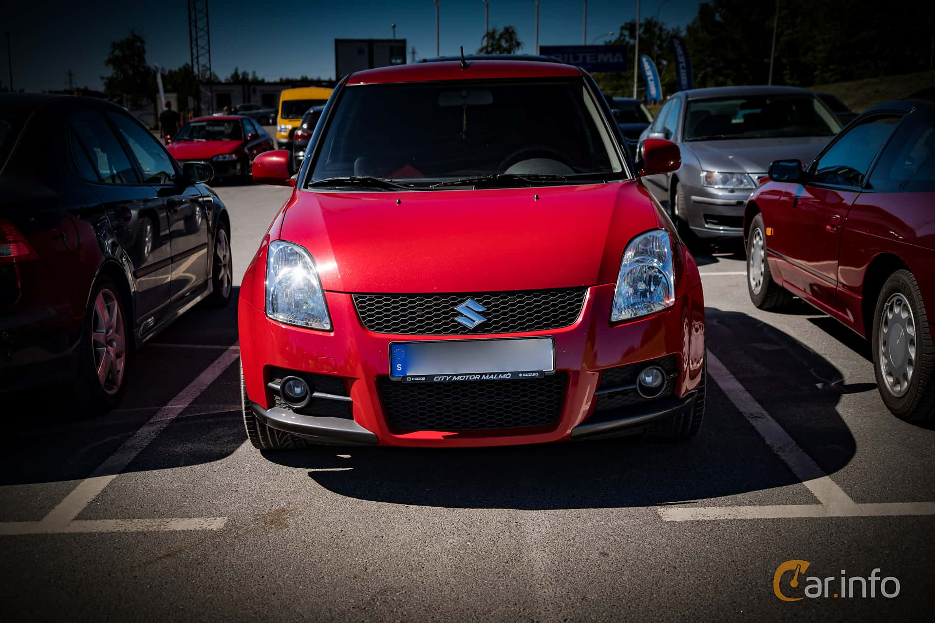 3 Images Of Suzuki Swift Sport 3 Door 16 Manual 125hp 2007 By