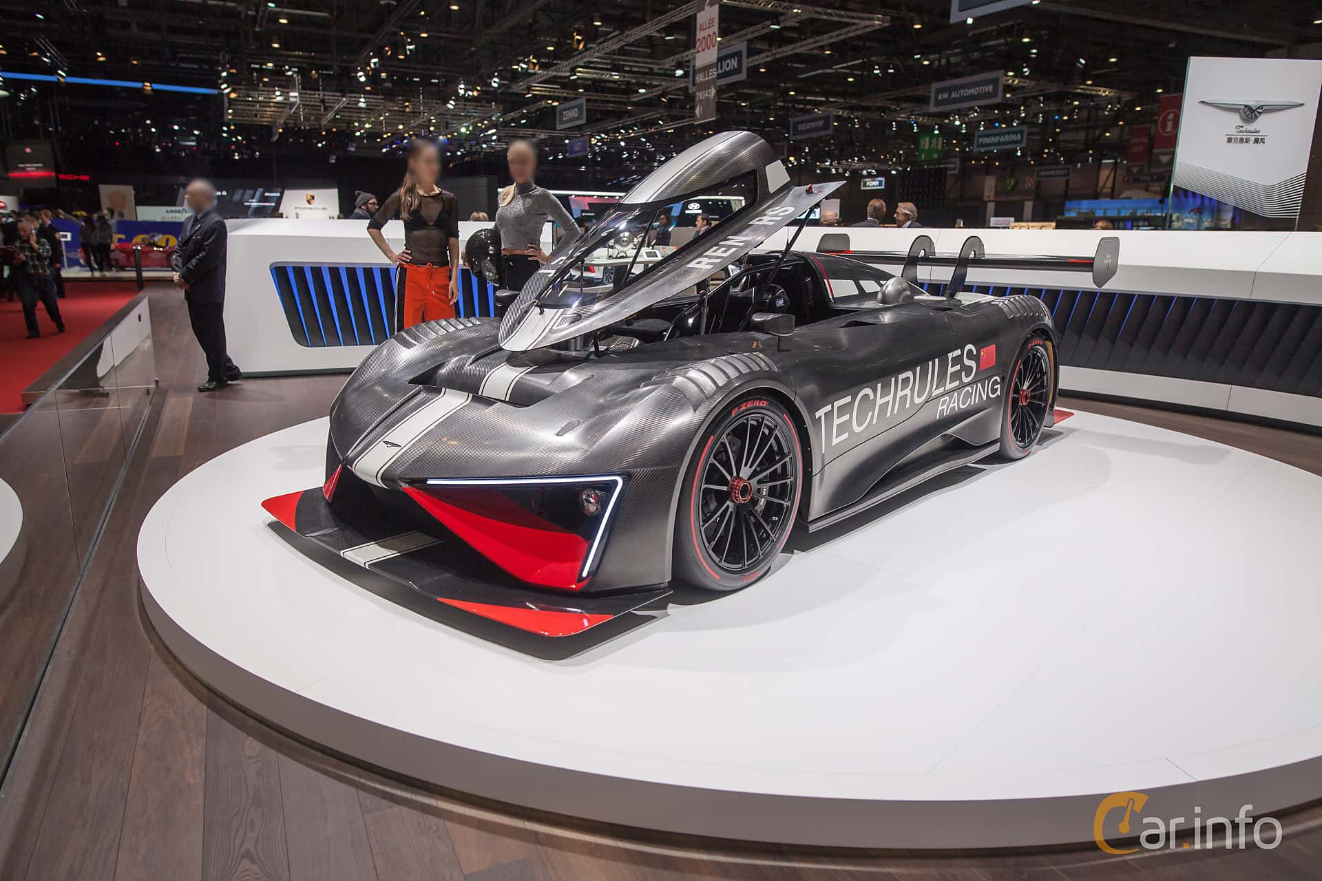 Techrules Ren RS 28.4 kWh Single Speed, 1303hp, 2018 at Geneva Motor Show 2018