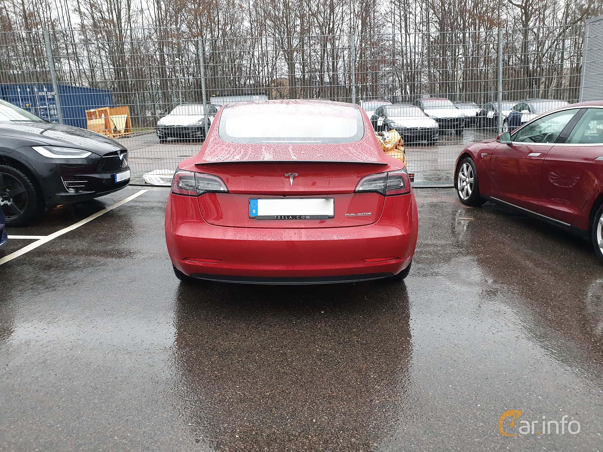 Tesla Model 3 Performance 75 kWh Single Speed, 462hk, 2019