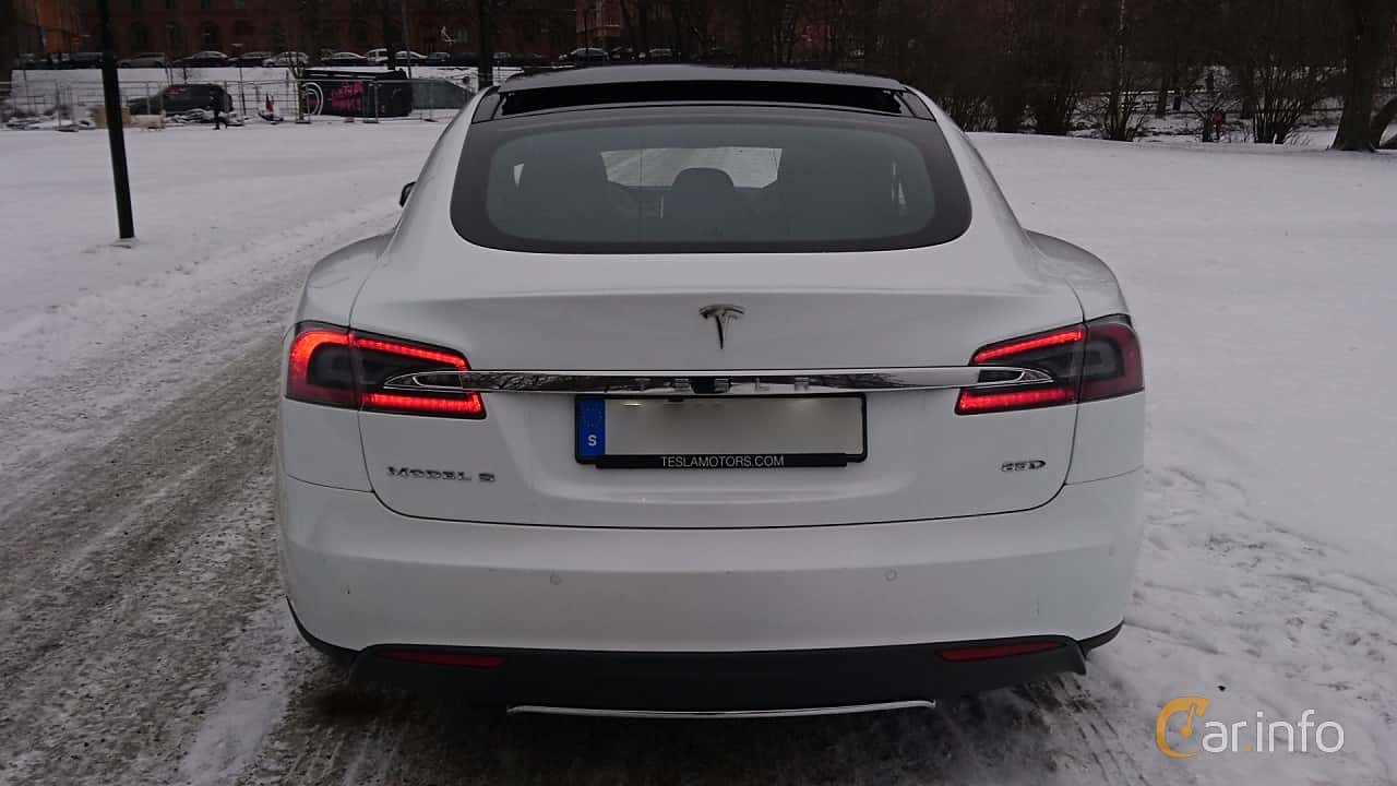 Tesla Model S 85D 85 kWh AWD Single Speed, 423hp, 2016