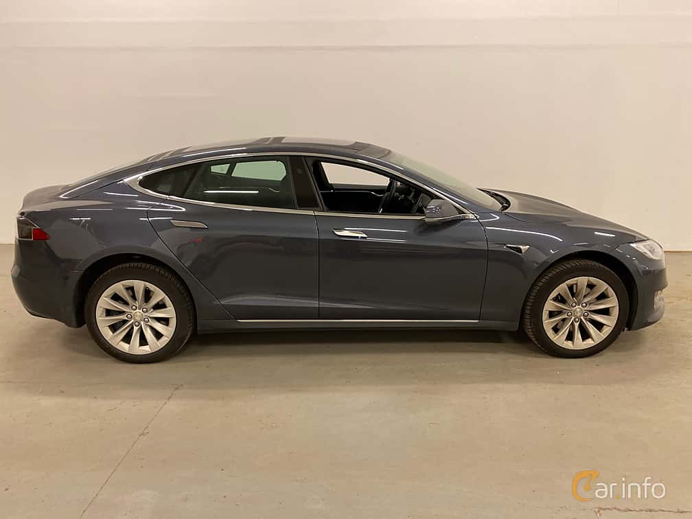 Sida av Tesla Model S 90D 90 kWh AWD Single Speed, 423ps, 2017