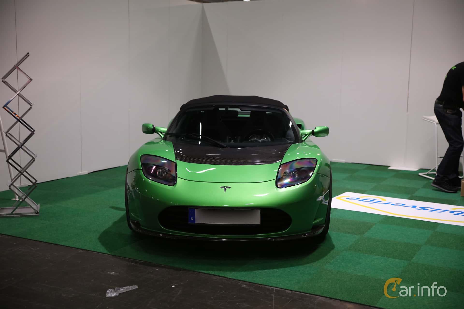 Tesla Roadster 2.5 Sport 53 kWh Single Speed, 292hp, 2012 at eCar Expo Göteborg 2018