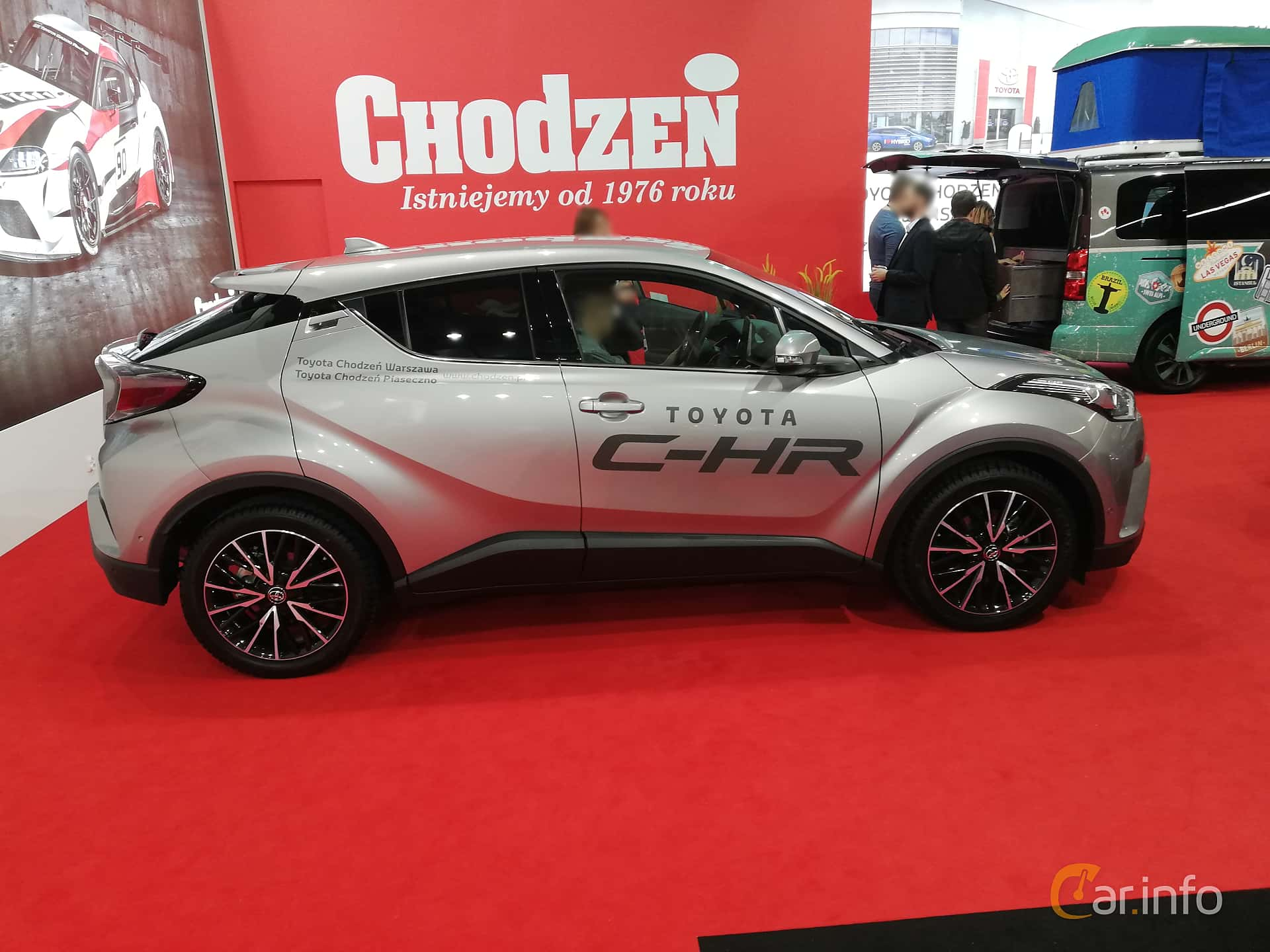Toyota C-HR 1.2 Manual, 116hp, 2018 at Warsawa Motorshow 2018