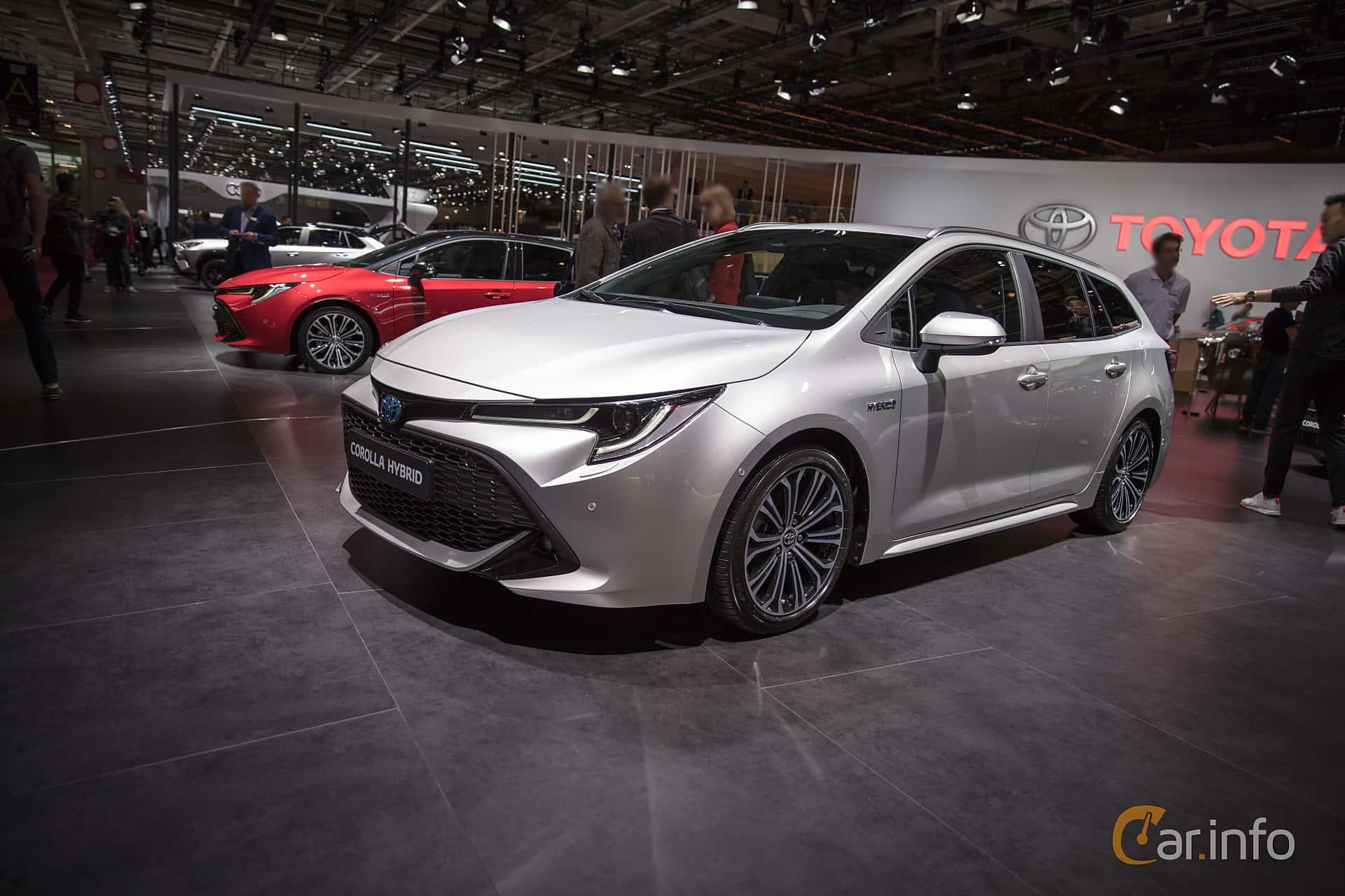7 Images Of Toyota Corolla Hybrid Station Wagon 1 8 Vvt I 3jm Cvt