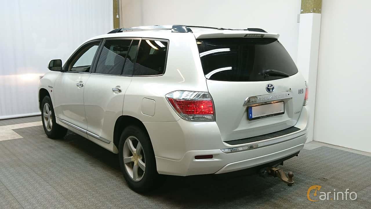 Toyota Highlander 3.5 V6 Hybrid AWD Automatic, 248hp, 2011