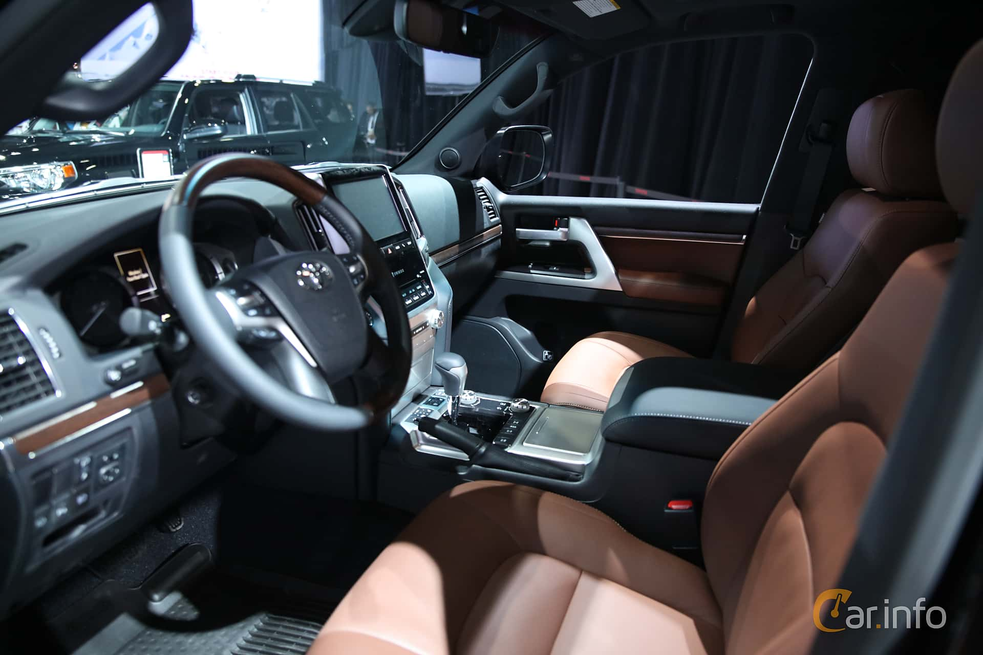 Interior Of Toyota Land Cruiser 2018 At North American International Franzhaenel