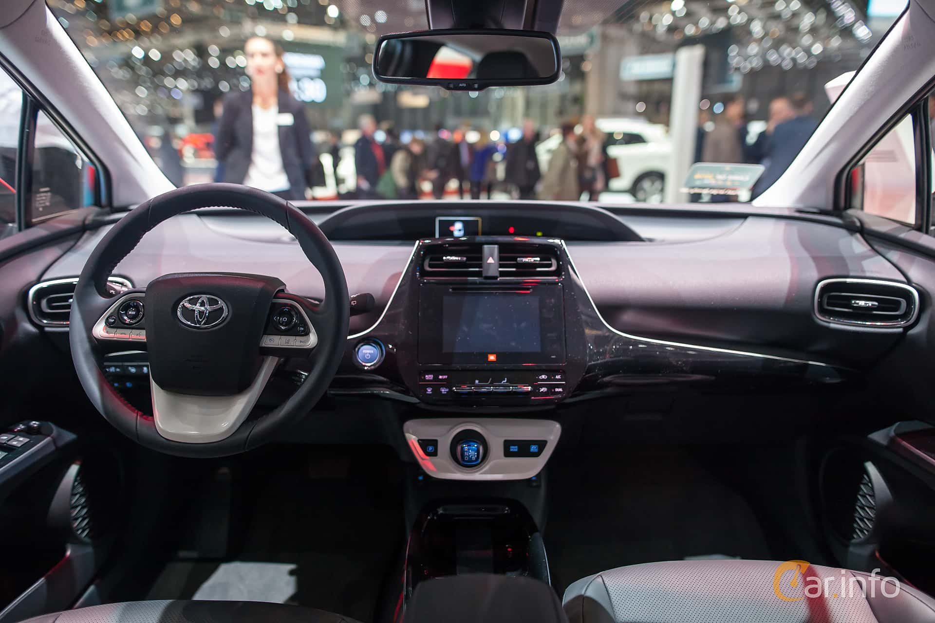 Tagen P Geneva Motor Show 2017 Toyota Prius Interior Sebastianjohansson
