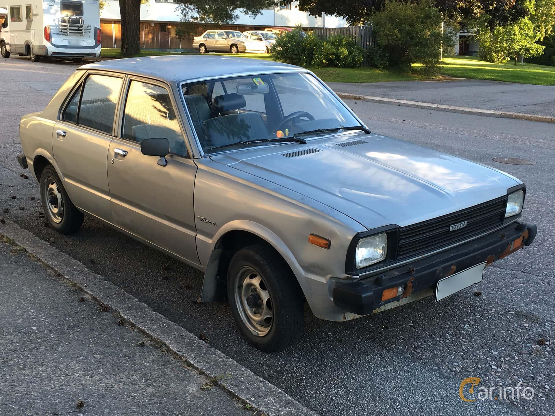 Toyota Tercel Door Sedan Front Side