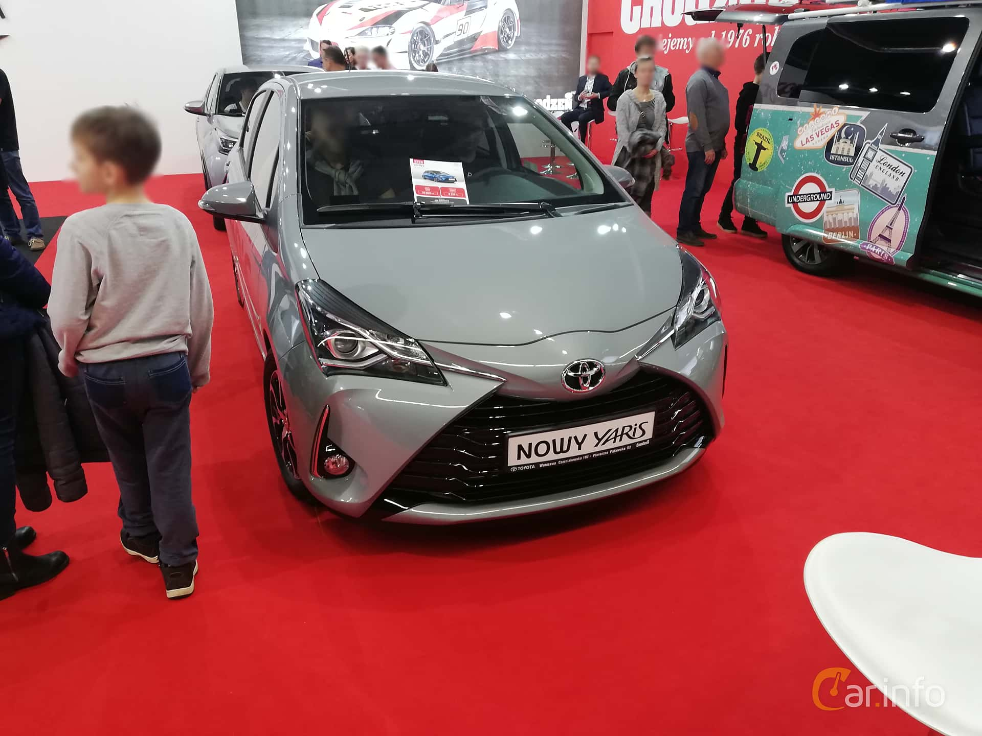 Toyota Yaris 5-door 1.0 VVT-i Manual, 69hp, 2018 at Warsawa Motorshow 2018