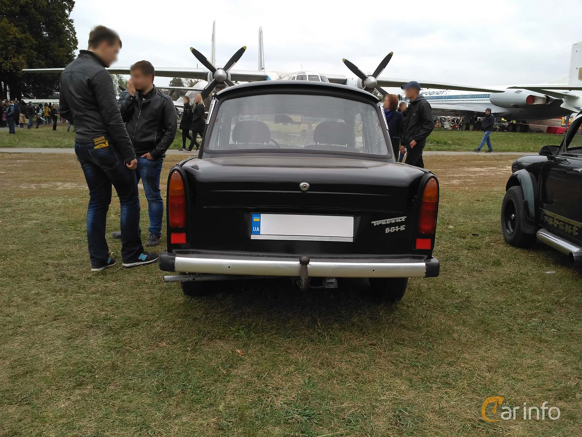 Trabant 601 Limousine 0.6 Manual, 26hp, 1987
