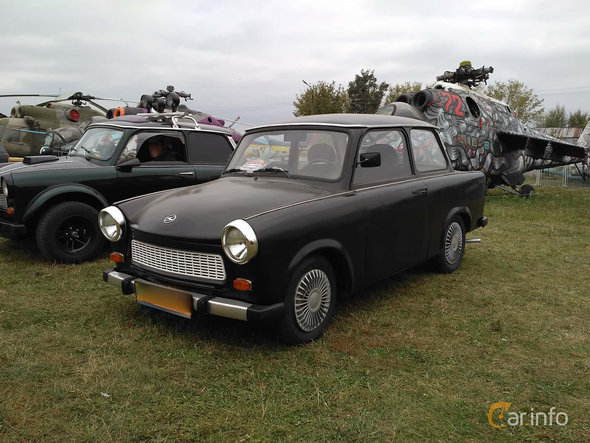 Trabant 601 Limousine 0.6 Manual, 26hp, 1987