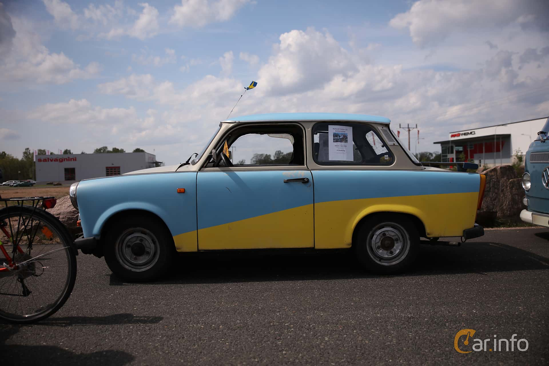Trabant 601 Limousine 0.6 Manual, 26hp, 1987 at Riksettanrallyt 2018