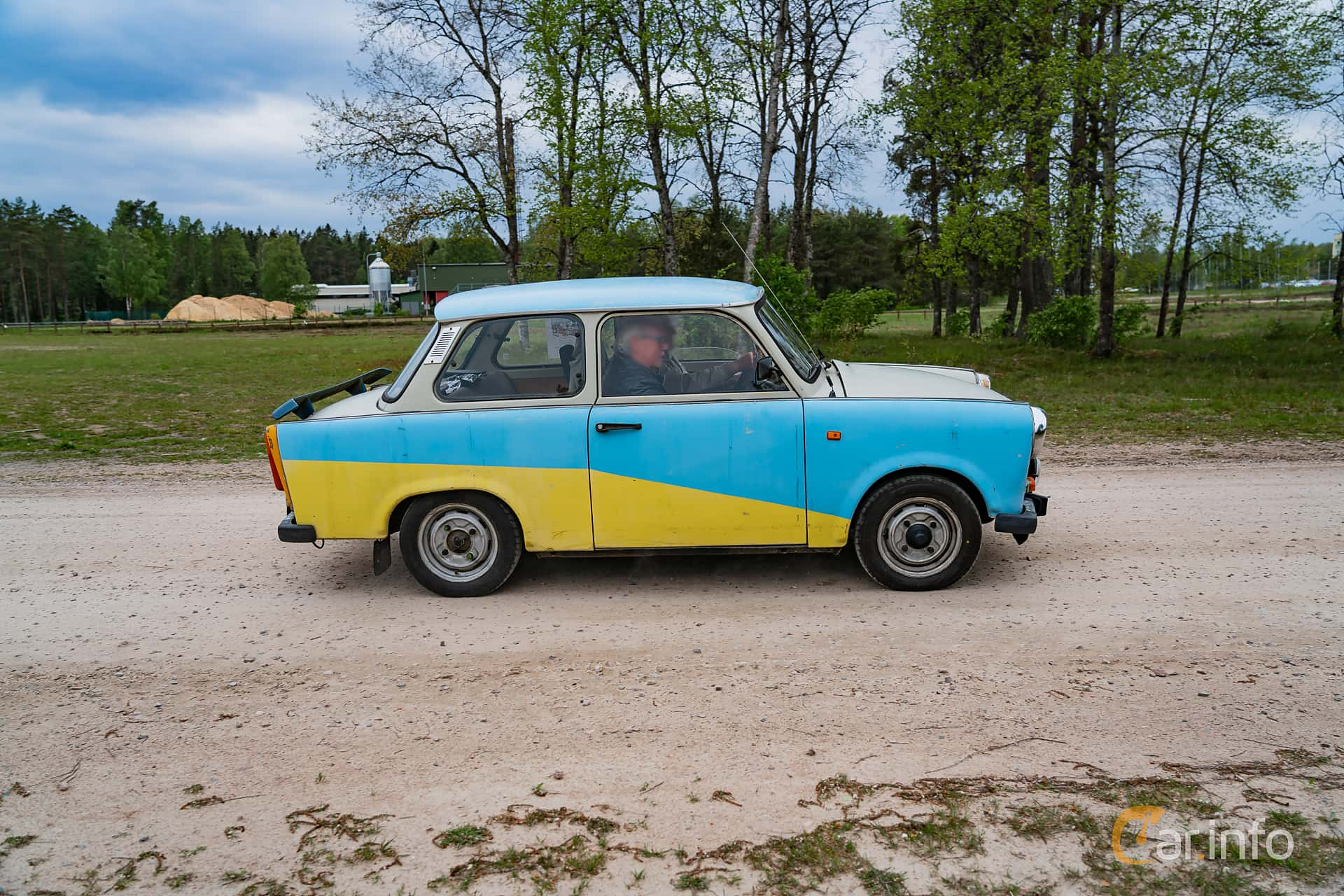 Trabant 601 Limousine 0.6 Manual, 26hp, 1987 at Riksettanrallyt 2019 Skillingaryd