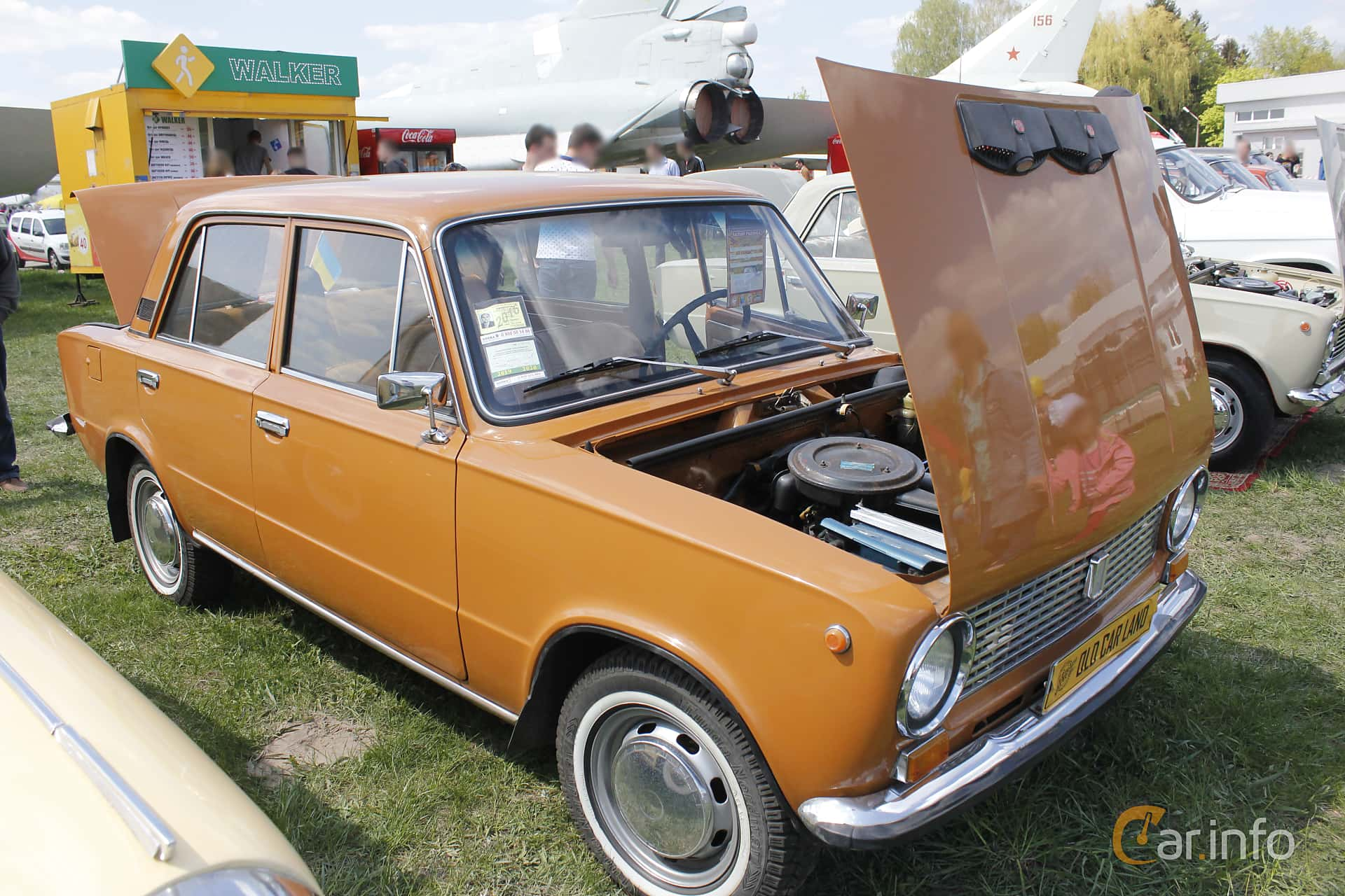 VAZ VAZ-21011 1.3 Manuell, 68hk, 1978 at Old Car Land no.1 2018