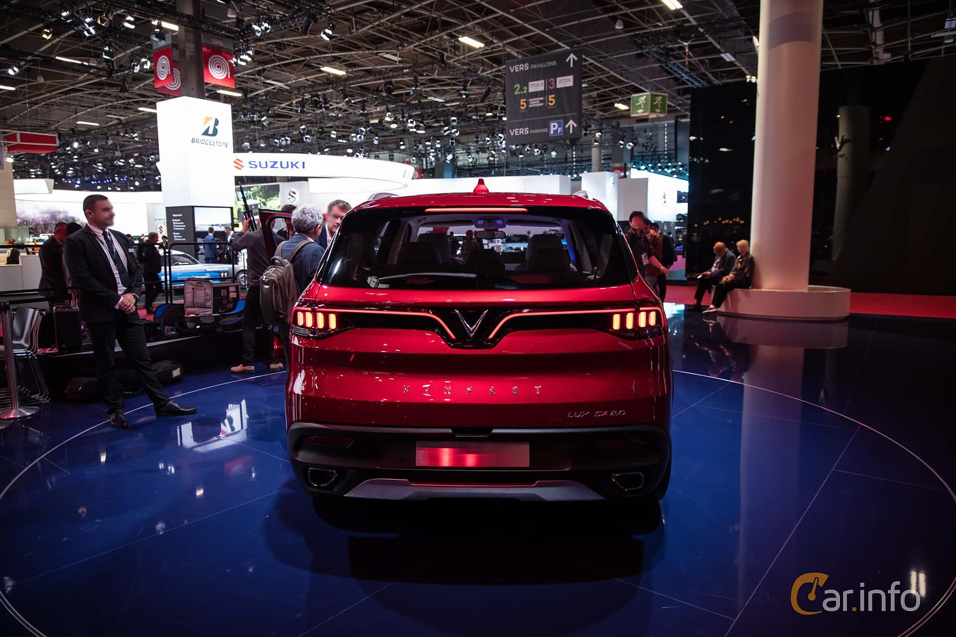 VinFast LUX SA2.0 2019 at Paris Motor Show 2018