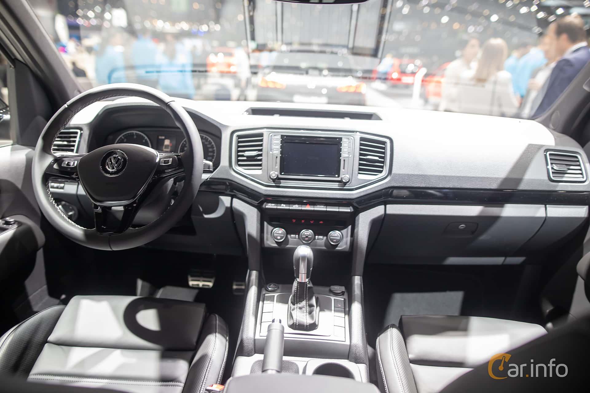 Interior of Volkswagen Amarok Dual Cab 3 0 V6 TDI 4Motion