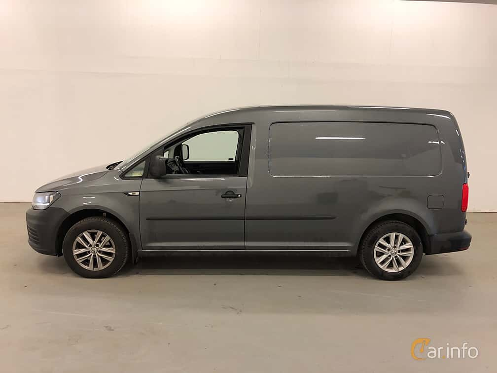Side  of Volkswagen Caddy Maxi 2.0 TDI BlueMotion DSG Sequential, 102ps, 2016