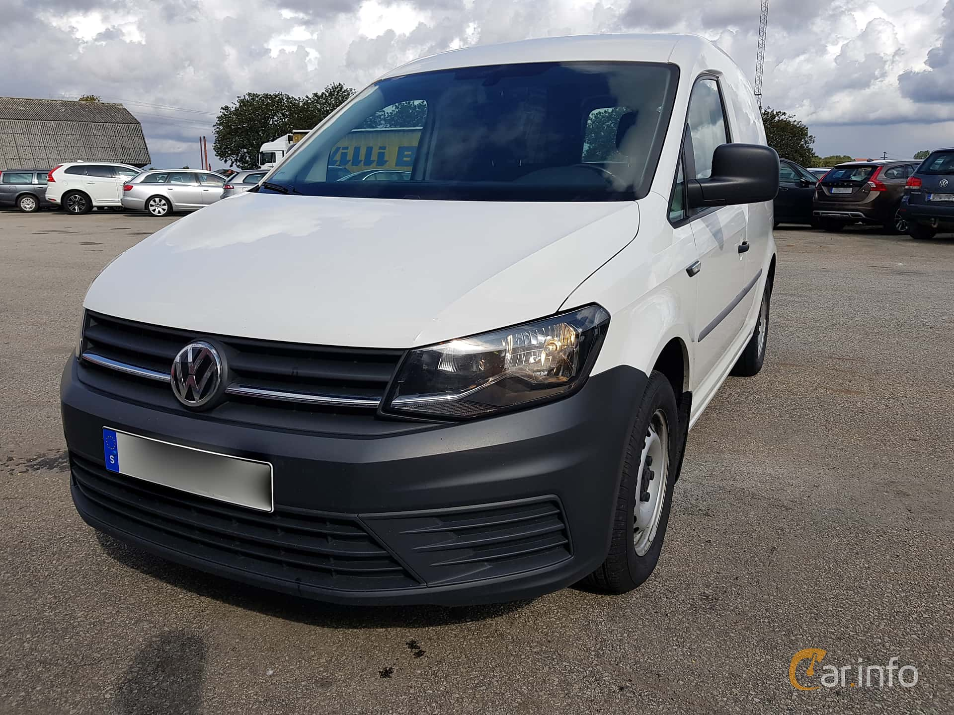 Front/Side  of Volkswagen Caddy Panel Van 2.0 TDI BlueMotion Manual, 75ps, 2017