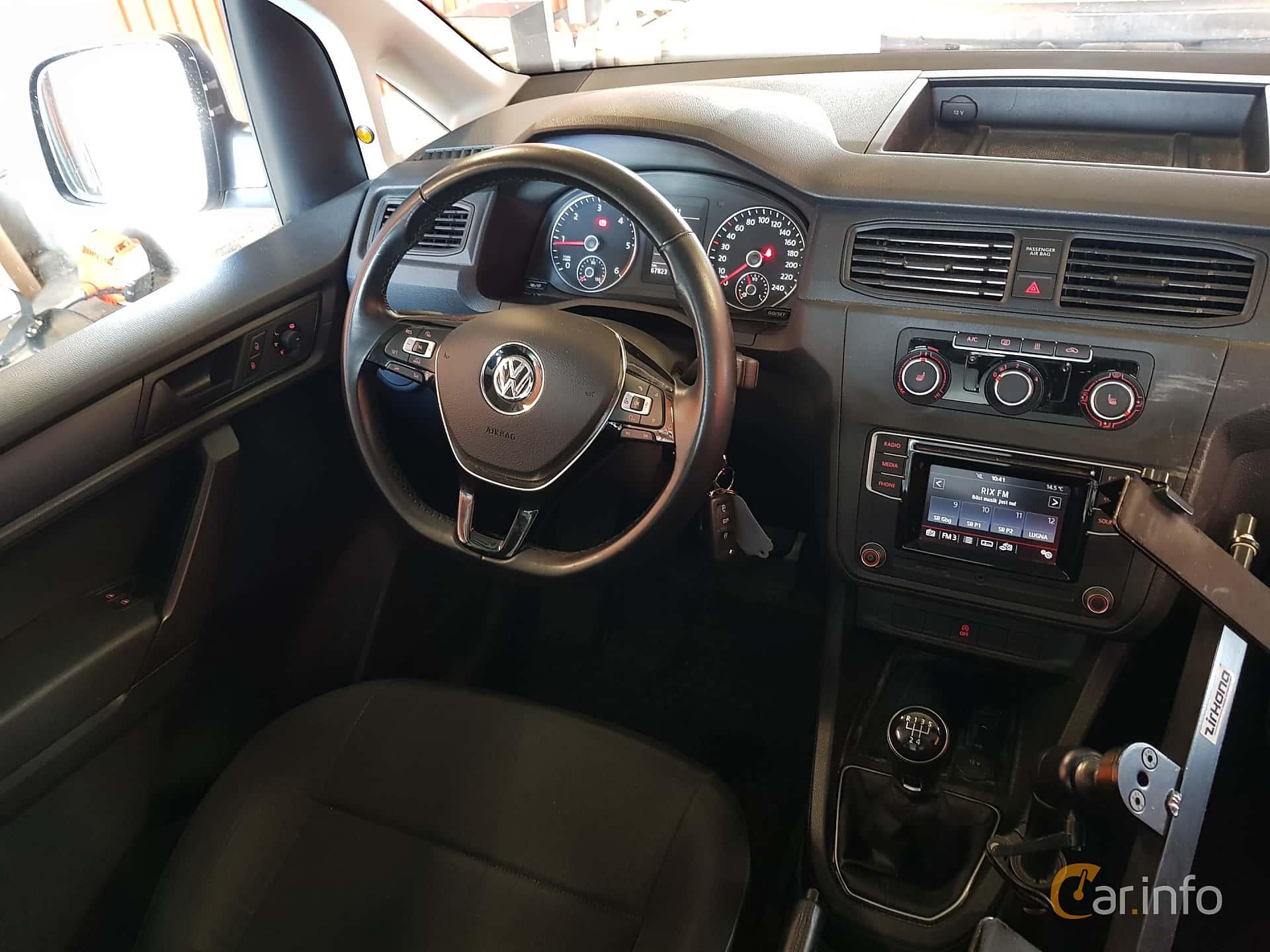 Volkswagen Caddy Panel Van 2.0 TDI BlueMotion Manual, 75hp, 2017
