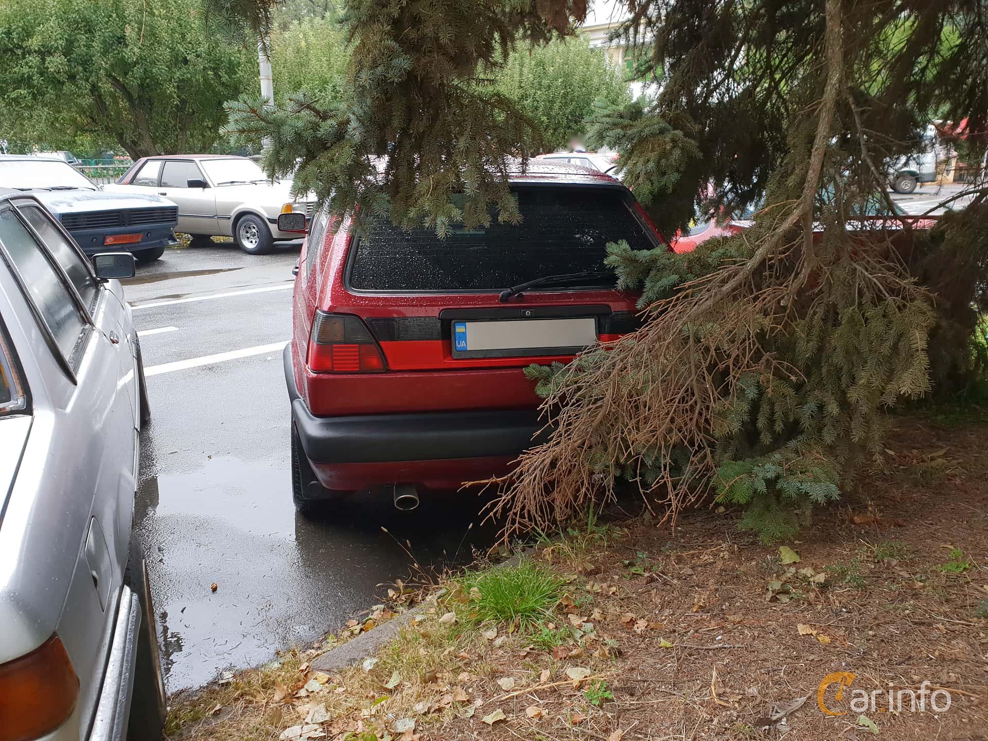 Volkswagen Golf 3-door 1.6 TD Manual, 60hp, 1989 at Old Car Land no.2 2018