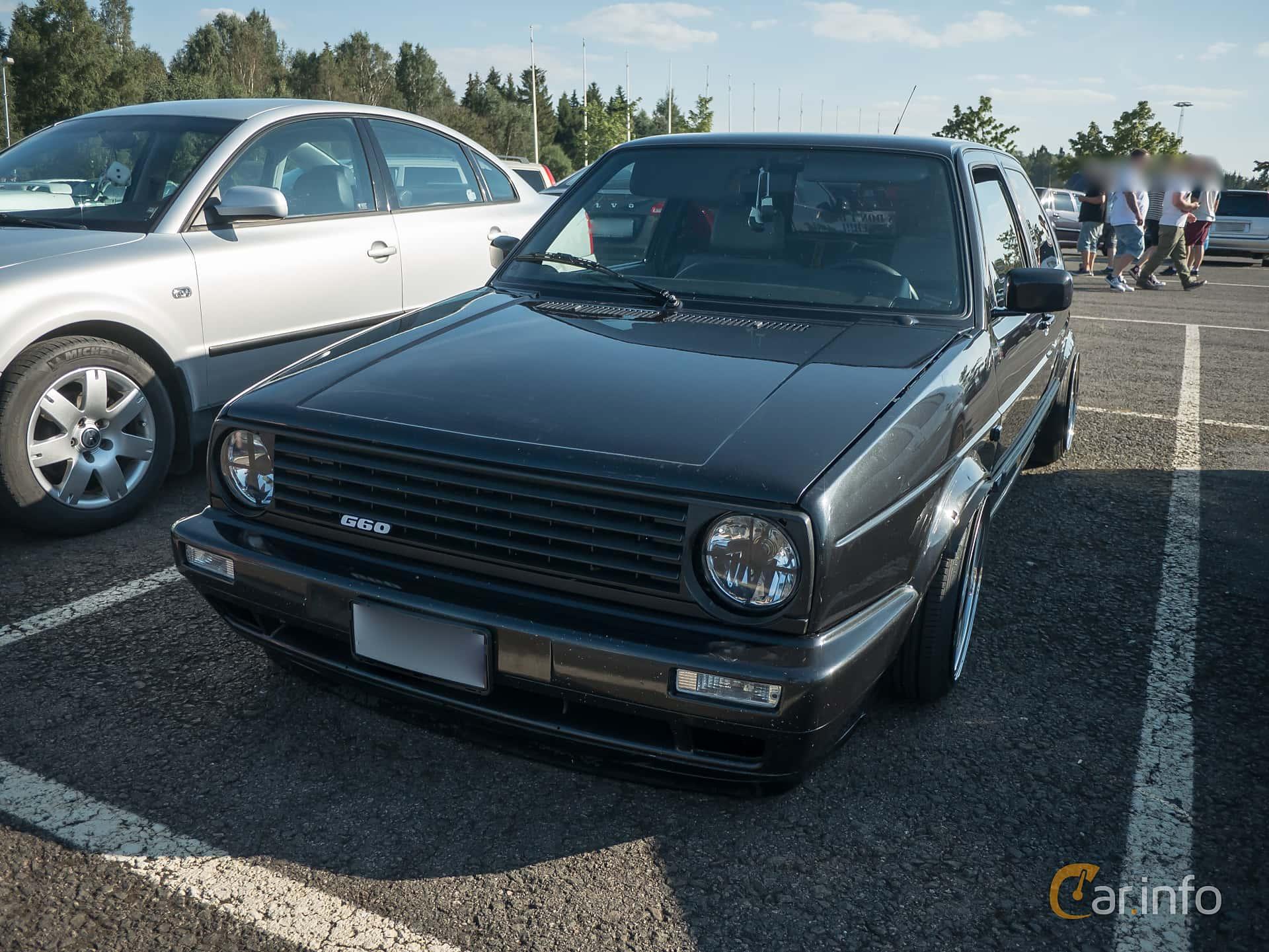 2 Images Of Volkswagen Golf Gti G60 3 Door 18 Manual 160hp 1990 Front Side 160ps